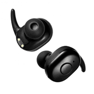 Auriculares Inalámbricos TWS Bluetooth con Caja de Carga - Negro al mejor precio solo en loi