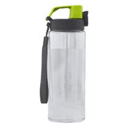 Botella Caramañola Transparente de 750ml con Tapa Rosca - Verde al mejor precio solo en loi