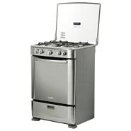 Cocina MABE 4 Hornallas a Gas Espiedo Calientaplatos en Acero al mejor precio solo en loi