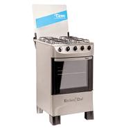 Cocina Tem Kitchen Chef 4 hornallas al mejor precio solo en loi