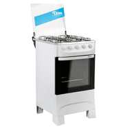 Cocina TEM Mastercook  Super Gas 4 Hornallas - Blanca al mejor precio solo en loi