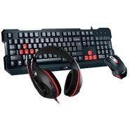 Combo Gamer Genius Auriculares + Teclado + Mouse al mejor precio solo en loi