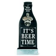 Destapador de Botella Madera estilo Vintage para Pared - Negro al mejor precio solo en loi