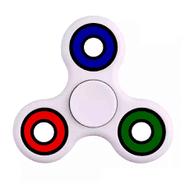 Fidget Spinner de 4 rulemanes color Blanco al mejor precio solo en loi
