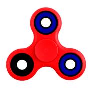Fidget Spinner de 4 rulemanes color Rojo al mejor precio solo en loi