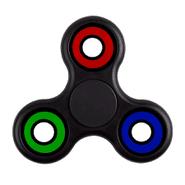 Fidget Spinner de 4 rulemanes color Negro al mejor precio solo en loi