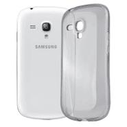 Estuche Protector TPU Transparente para Galaxy S3 Mini