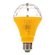 Lámpara de colores giratoria LED de 360 grados Amarillo al mejor precio solo en loi