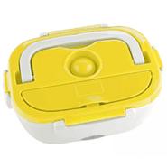 Portacomidas Eléctrico con 2 compartimientos y Porta Ensalada - Amarillo al mejor precio solo en loi