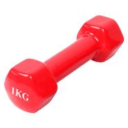 Mancuerna 1Kg revestida en vinilo - Rojo al mejor precio solo en loi
