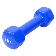 Mancuerna 1Kg revestida en vinilo - Azul al mejor precio solo en loi