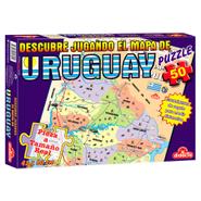 Maxi Puzzle Uruguay de 50 piezas, 42 x 60 cm al mejor precio solo en loi