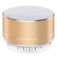 Mini Parlante Bluetooth 3W Batería Recargable - Dorado al mejor precio solo en loi