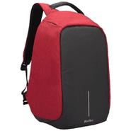 Mochila Anti-Robo Kolke KVM-245, Tela Impermeable con USB - Rojo al mejor precio solo en loi