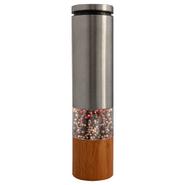 Molinillo Eléctrico Star Sal, Pimienta o mezcla de ambos Acero Inox y Bambú al mejor precio solo en loi