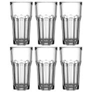 Set de 6 Vasos de vidrio templado de 250ml al mejor precio solo en loi