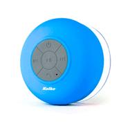 Parlante Bluetooth a prueba de agua celeste al mejor precio solo en LOI
