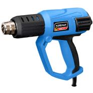 Pistola de calor FOREMAN 2000W 3 niveles de temperatura al mejor precio solo en loi