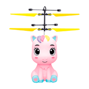 Pony Volador con Luces LED Sensor Infrarrojo Cable microUSB - Rosa al mejor precio solo en loi