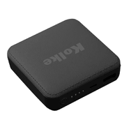 Mini Power Bank Kolke KCP-308 6000mAh Compatible con Iphone y Android - Negro al mejor precio solo en loi
