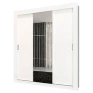 Ropero de 3 Puertas corredizas con Espejo 100% MDP - Blanco al mejor precio solo en loi