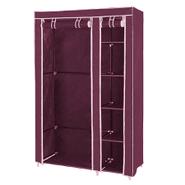 Ropero de tela plegable con perchero y 5 estantes Vino al mejor precio solo en loi