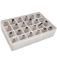 Set de 24 punteros para repostería de metal al mejor precio solo en loi