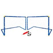 Set de fútbol infantil 2 arcos 2 redes pelota inflador al mejor precio solo en loi