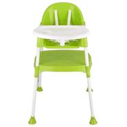 Silla Alta de Comer 2en1 para bebés a partir de 6 meses - Verde al mejor precio solo en loi