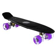 Skate Patineta Aluminio con Ruedas en PU - Negro al mejor precio solo en loi