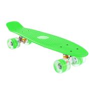 Skate Patineta Aluminio con Ruedas en PU - Verde al mejor precio solo en loi
