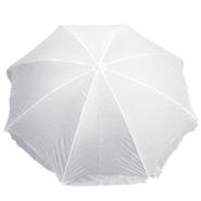 Sombrilla para Playa DSA-4 Classic con Funda - Blanca al mejor precio solo en LOI