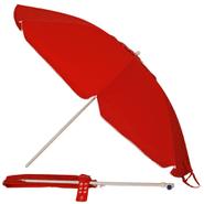 Sombrilla de playa Swiss Armor con Filtro UV/ 80+ Roja al mejor precio solo en LOI