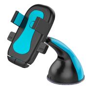 Soporte para Celular para Auto con Ventosa Rotación 360° - Celeste al mejor precio solo en loi