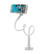 Soporte para Celular Pinza con Brazo Flexible - Blanco al mejor precio solo en loi