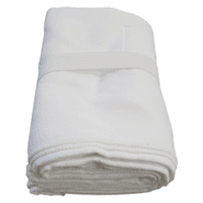 Toalla de Microfibra Super Absorbente 130x80cm Blanco al mejor precio solo en loi