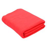Toalla de Microfibra Super Absorbente 160x70cm Rojo al mejor precio solo en loi