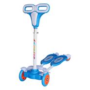 Tripatín monopatín tijera de 4 ruedas Azul al mejor precio solo en loi