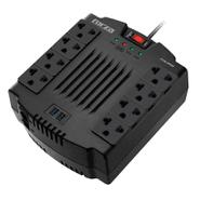Zapatilla FORZA FVR-1202USB con Regulador de Voltaje 8 Enchufes + 2 Puertos USB al mejor precio solo en loi