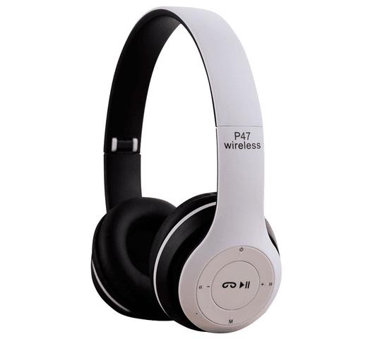 Auriculares P47 inalámbricos con Bluetooth - Blanco al mejor precio solo en loi