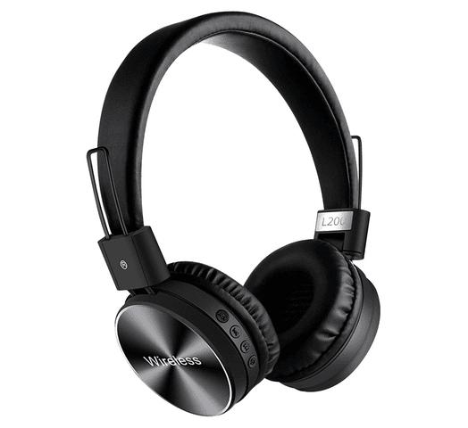Auriculares Inalámbricos L200 Bluetooth 4.2 Plegables - Negro al mejor precio solo en loi