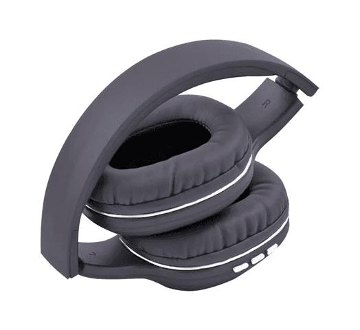 Auriculares Inalámbricos SY-BT1608 Plegables Batería Recargable - Grises al mejor precio solo en loi