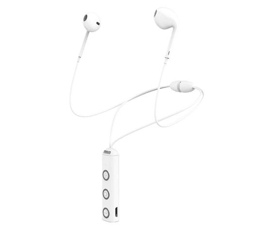Auriculares inalámbricos XT-13 imantados con Bluetooth 4.1 - Blancos al mejor precio solo en loi