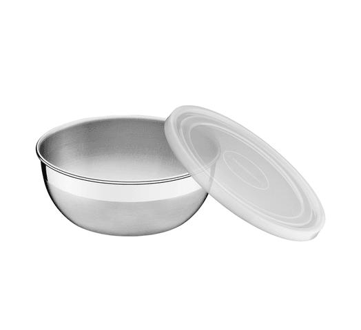 Bowl redondo con tapa Tramontina de 22cm de diámetro al mejor precio solo en loi