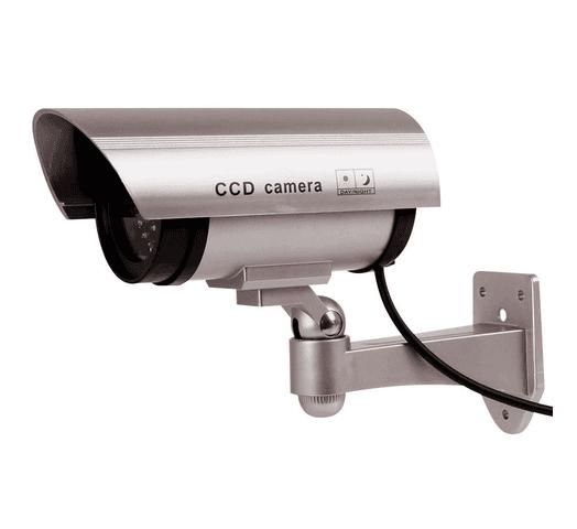 Cámara de seguridad falsa con Luz LED al mejor precio solo en loi