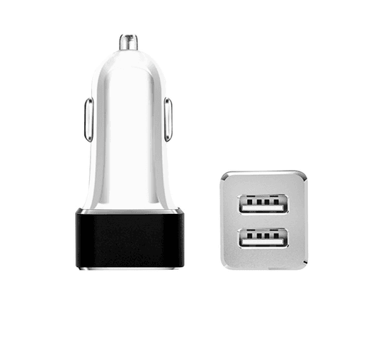 Cargador para Autos Doble USB al mejor precio solo en loi