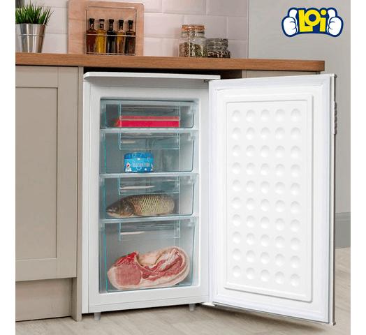 Freezer Vertical Xion 80L Cajones Frío Húmedo al mejor precio solo en loi