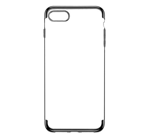 Funda para Iphone 7 y 8 de TPU flexible y reforzado - Negro al mejor precio solo en loi