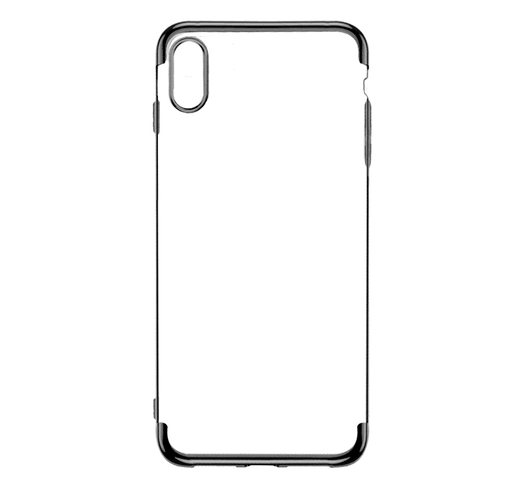 Funda para Iphone XS Max de TPU flexible y reforzado - Negro al mejor precio solo en loi