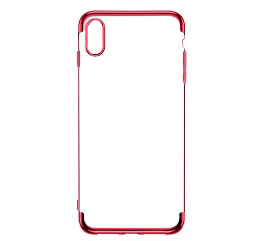 Funda para Iphone XS Max de TPU flexible y reforzado - Rojo al mejor precio solo en loi